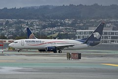 Aeromexico 2007 Boeing 737-800 XA-MIA c/n 35119 departing San Francisco Airport 2019. (17crossfeed) Tags: aeromexico 737 737800 xamia 35119 airport sfo sanfranciscoairport aviation aircraft airplane flying flight flightattendant pilot planes planespotting plane claytoneddy 17crossfeed 787 777 747 757 767 landing lufthansa deltaairlines americanairlines sfoov southwestairlines unitedairlines