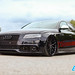 "Audi black on black, stanced • <a style=""font-size:0.8em;"" href=""http://www.flickr.com/photos/54523206@N03/47849063792/"" target=""_blank"">View on Flickr</a>"