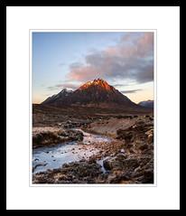 Dawn (marschp) Tags: buachailleetivemor glen glencoe highlands moor mountain rannoch river scotland stream sunrise winter scottishhighlands