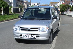 1999 Daihatsu Cuore (occama) Tags: t723tkj 1999 daihatsu cuore old car cornwall uk small japanese silver kei