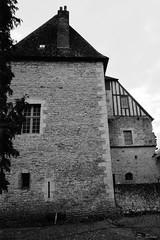 Le château de la Ferté-Bernard (XIe, XVe, XVIIe s.) (Philippe_28) Tags: lafertébernard sarthe 72 france europe argentique analogue camera photography photographie film 135 bw nb château castle
