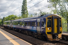 Northern 158870 (Mike McNiven) Tags: arriva railnorth northern scotrail gatley barrow barrowinfurness manchester manchesterairport airport sprinter supersprinter dmu diesel multipleunit