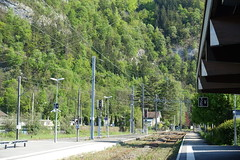 Train tracks @ SNCF train station @ Cluses @ Hike to Mont Orchez (*_*) Tags: hiking mountain montagne nature randonnee walk marche printemps spring 2019 afternoon may chablais savoie cluses europe france hautesavoie 74 gare trainstation sncf garedecluses