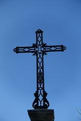Cross @ Hike to Mont Orchez (*_*) Tags: hiking mountain montagne nature randonnee walk marche printemps spring 2019 afternoon may chablais savoie cluses europe france hautesavoie 74 catholic christian cross croix
