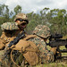 U.S. Marines conduct squad attack drills during Exercise Southern Jackaroo