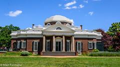 Monticello (Al Fontaine) Tags: monticello virginia thomasjefferson historic historicstructures history scenic scenery green trees landscape bluesky