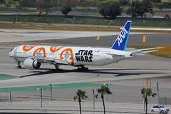 B777 JA789A Los Angeles 28.03.19 (jonf45 - 5 million views -Thank you) Tags: airliner civil aircraft jet plane flight aviation lax los angeles international airport klax 777 b777 all nippon airways boeing ja789a star wars bb8