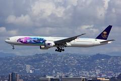 B777 HZ-AK43 Los Angeles 28.03.19 (jonf45 - 5 million views -Thank you) Tags: airliner civil aircraft jet plane flight aviation lax los angeles international airport klax 777 b777 saudia boeing hzak43
