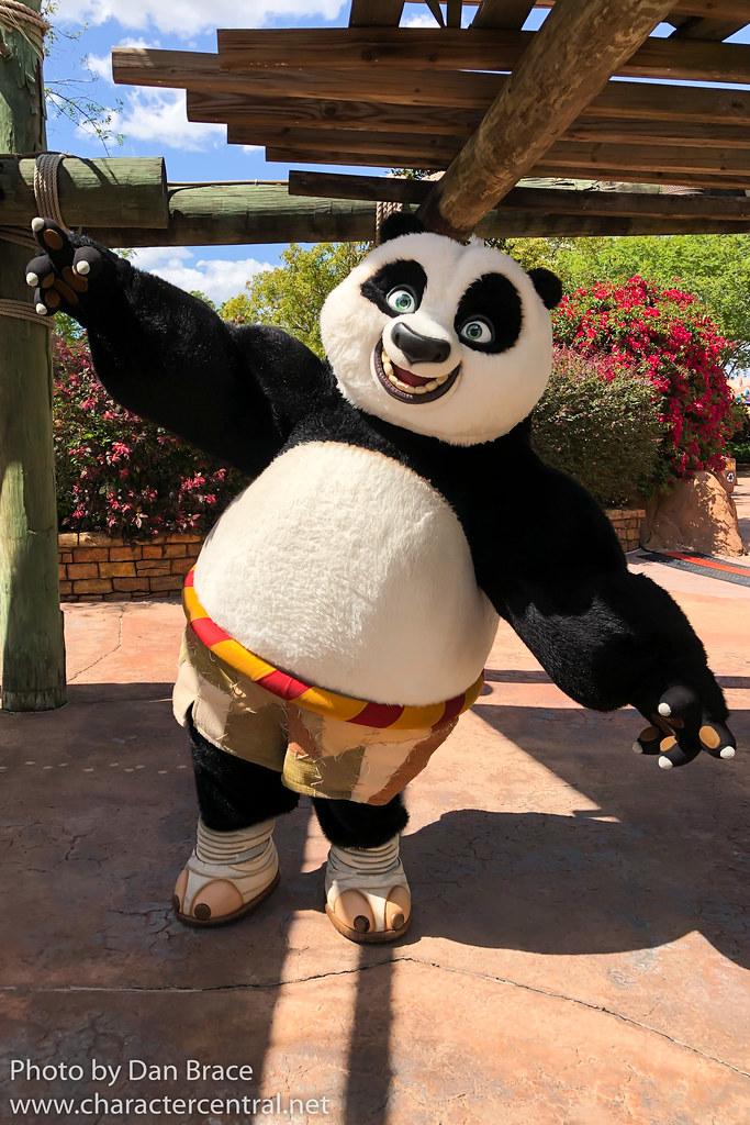 Po Kung Fu Panda At Disney Character Central