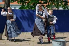 TFE_Maisprung_2019_BestOf_Web_024 (Mark Poltermann) Tags: mai maisprung 2019 tanz erfurt tfe petersberg folklore auftritt thüringen verein personen outdoor bühne darsteller künstler kostüm darstellender