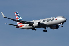 American Airlines (AA) - Boeing 767-300ER - N394AN - John F. Kennedy International Airport (JFK) - February 19, 2019 110 RT CRP (TVL1970) Tags: nikon nikond7200 d7200 nikongp1 gp1 geotagged nikkor70300mmvr 70300mmvr aviation airplane aircraft airlines airliners johnfkennedyinternationalairport kennedyairport jfkairport jfkinternational jfk kjfk bayswaterpark n394an americanairlines aa boeing boeing767 boeing767300 boeing767300er b767 b763 767 767300 767300er 767300erwl 767323 767323er 767323erwl aviationpartners winglets generalelectric ge generalelectriccf6 cf6 cf680 cf680c2b6