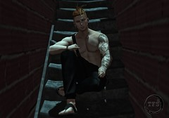 TFS - Lucky Boy Bento Male Pose # 17 (Thi ;)) Tags: new release bento male pose guy art sl design secondlife tfs pic photo man men