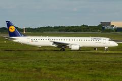 D-AEMC (PlanePixNase) Tags: eddv haj hannover airport aircraft planespotting langenhagen embraer lufthansa e195 e95 195 cityline