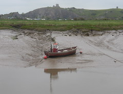High & Dry #2 (andreboeni) Tags: uphill church hill boat mud lowtide river estuary somerset