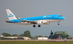 "KLM Cityhopper PH-EXJ Embraer ERJ-175 flight KL1535 arrival at ""Durham Tees Valley"" MME England from Amsterdam AMS Netherlands (thelastvintage) Tags: klm cityhopper phexj embraer erj175 flight kl1535 arrival durhamteesvalley mme england from amsterdam ams netherlands teessideairport durhamteesvalleyairport 175std first date 21092016 21102016"