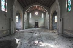 La Chiesa dei Polli (Sean M Richardson) Tags: abandoned church chiesa color light reflection italia italy architecture decay details texture canon photography explore urbex travel