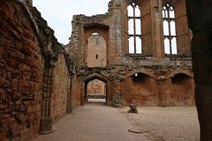 Kenilworth Castle, Great Hall (rebuilt by 1380) (Clanger's England) Tags: kenilworthcastle warwickshire england