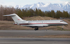 Global | N500VJ | ANC | 20150510 (Wally.H) Tags: bombardier global express bd700 global5000 n500vj vistajetus anc panc anchorage airport