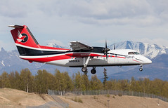DHC-8 | N880EA | ANC | 20150510 (Wally.H) Tags: bombardier dehavillandcanada dhc8 dash8 n880ea ravnalaska anc panc anchorage airport