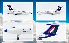 MALEV Hungarian Airlines Tu-134 | HA-LBR | Herpa Wings | 1:500 (KristofCs) Tags: halbr herpa malév tu134 1500