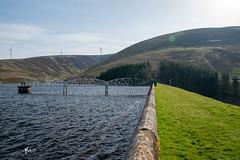 Coulter Reservoir (KMPhotos) Tags: dam water reservoir loch windfarm green energy