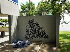 """Life in the Dark"" (rickele) Tags: graffiti sacramento opioidcrisis heroin addiction homelessness"