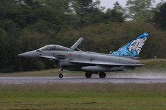 Eurofighter Typhoon | Italian Air Force (James Hancock Photography) Tags: nato tiger meet 2019 montdemarsan aviation aircraft planes fighter jet military