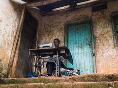 phoenix (vldd) Tags: decay door africa tanzania pov rural wall manatwork