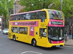 SN17 MTO (tubemad) Tags: sn17mto yellow buses ratp bournemouth enviro400 e400 e400mmc