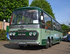 CCG 704C (tubemad) Tags: ccg704c bedford val plaxton panorama fokab winchester bus rally preserved