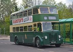 POU 494 (tubemad) Tags: pou494 east lancs leyland titan pd2 fokab winchester bus rally preserved