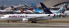 Airbus A-330-202 EI-GFX (707-348C) Tags: losangeles thehill klax passenger airliner jetliner airbus airbusa330 lax airitaly iss california ca a332 eigfx usa 2019