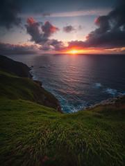 Grass Sunset (BIZKAIA) (Jonatan Alonso) Tags: