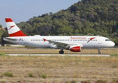 OE-LBR (QC PHOTOGRAPHY) Tags: rhodes diagoras greece july 29th 2018 austrian airlines a320200 oelbr
