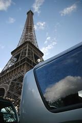 Mercedes O350 Eiffelturm Paris