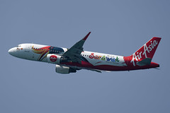 AirAsia Airbus A320-216(WL) 9M-AJD Sarawak livery (EK056) Tags: airasia airbus a320216wl 9majd sarawak livery phuket international airport
