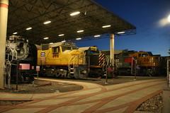 Museum Lineup (Railfan Dan) Tags: up unionpacific steamengine steamlocomotive dda40x centennial gasturbine drgw denverriograndewestern tunnelmotor sp southernpacific utahstaterailroadmuseum ogdenutahtrains ogdenuttrains goldenspike 150thanniversary up150