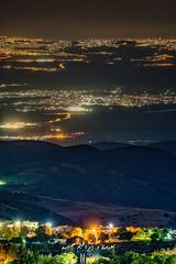 صورة تجمع القدس وكنيسة الصعود وأريحا والاغوار وجسر الملك حسين وجبال حمرة عباد وبدر الجديدة (ebrahemhabibeh) Tags: