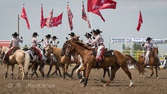 Strathmore Stampede 2018 (tallhuskymike) Tags: strathmorestampede event strathmore alberta rodeo 2018 cowgirl horse horses outdoors prorodeo