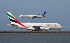 Emirates / Airbus A380-861 / A6-EUF / SFO (tremblayfrederick98) Tags: a380