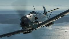 CLOSE UP ME 109 (DREADNOUGHT2003) Tags: wwii warpictures warplanes warplane fighters fighter raf usaac luftwaffe france