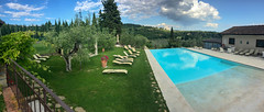 Tuscany Accommodation (cara.crowley) Tags: italy tuscany vineyards wine pool olive wander travel explore