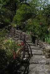 Il Glicine e La Lanterna (Elizabeth Almlie) Tags: italy toscana tuscany vignola agriturismo ilglicineelalanterna steps fence railing