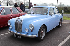 MG Magnette ZB 94LMH (Andrew 2.8i) Tags: haynes museum sparkford classic car cars classics breakfast meet show british saloon sedan bmc zb magnette mg