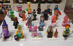 Lego Movie 2 Minifigures Series (Paranoid from suffolk) Tags: 2019 lego legomovie2 collection collectibles minifigs minifigures series complete 71023