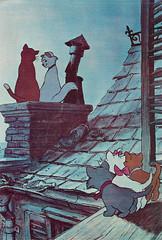 The AristoCats (1970) (Truus, Bob & Jan too!) Tags: thearistocats 1970 waltdisney disney walt vintage animation film cinema kino cine picture screen movie movies postcard postkarte carte postale cartolina tarjet postal postkaart briefkarte briefkaart ansichtskarte ansichtkaart cats