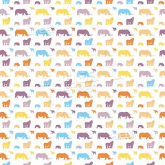 Seamless safari animals for kids wall art pattern (Hebstreits) Tags: africa african animal art baby babyrhinoceros background boy cartoon child childelephant children cute decoration design drawing elephant fabric fashion giraffe gorilla graphic illustration jungle kid lion monkey nature paper pattern print rhino rhinoceros safari seamless silhouette simple stye summer tee textile texture tropical vector wall wallpaper wild wildlife zoo