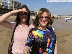 April 2019 - a day at the seaside (Girly Emily) Tags: crossdresser cd tv tvchix trans transvestite transsexual tgirl tgirls convincing feminine girly cute pretty sexy transgender boytogirl mtf maletofemale xdresser gurl glasses smile flipflops bridlington seaside beach sunshine sand