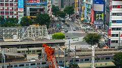 DSC_0433 (Adrian De Lisle) Tags: asia city cityscape crosswalk crowd japan people shibuya shibuyacrossing shibuyahikarie tokyo train trainstation shibuyaku tōkyōto