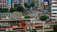 DSC_0281 (Adrian De Lisle) Tags: asia city cityscape crosswalk crowd japan people shibuya shibuyacrossing shibuyahikarie tokyo train trainstation shibuyaku tōkyōto